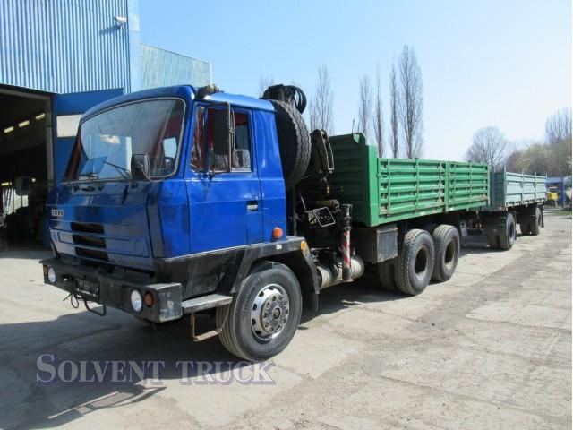 Tatra T815 - 6x6 - Hydraulická ruka