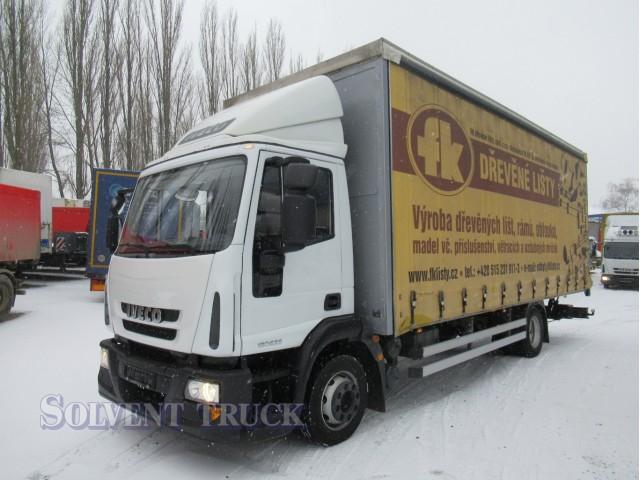 Iveco Eurocargo 120E25 - Euro 5 - Shrnovačka - Hydraulické čelo