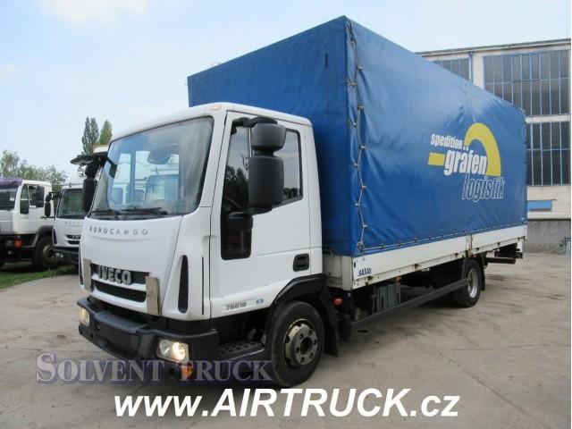 Iveco Eurocargo 75E18 Euro 5 - Skříň - Hydraulické čelo