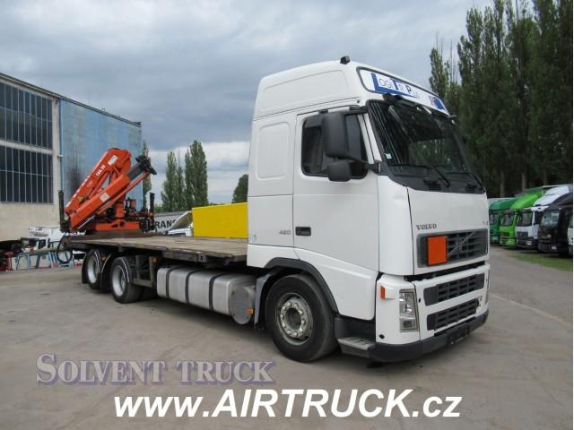 Volvo FH 12.420 Euro 3 - Hydraulická Ruka Atlas 120-2E